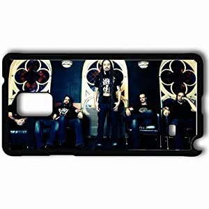 Personalized Samsung Note 4 Cell phone Case/Cover Skin Amorphis T Shirts Room Windows Black