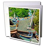 3dRose Danita Delimont - Travel - South Putuo Temple, Xiamen, Fujian Province, China - 12 Greeting Cards with envelopes (gc_276734_2)