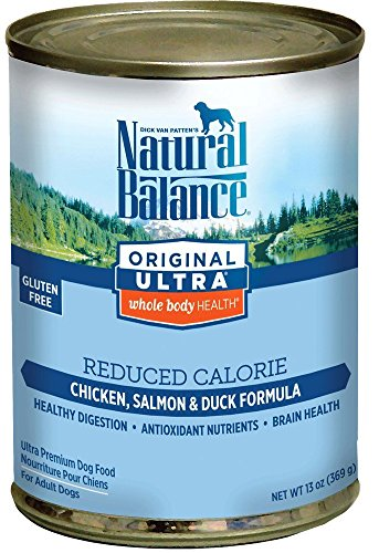 12 Pack, 13 Ounce, Ultra Whole Body Health Reduced Calorie Canned Dog Food