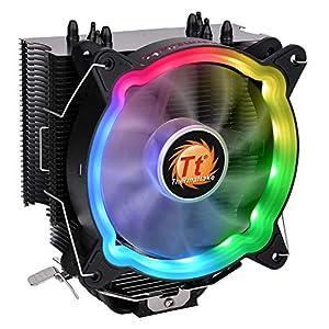 Thermaltake UX200 5V ARGB Sync 16.8 Million Colors 15 ARGB LED Intel/AMD Universal Socket 130W CPU Cooler (CL-P065…