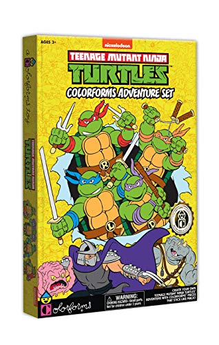 Colorforms Retro TMNT Teenage Mutant Ninja Turtles -