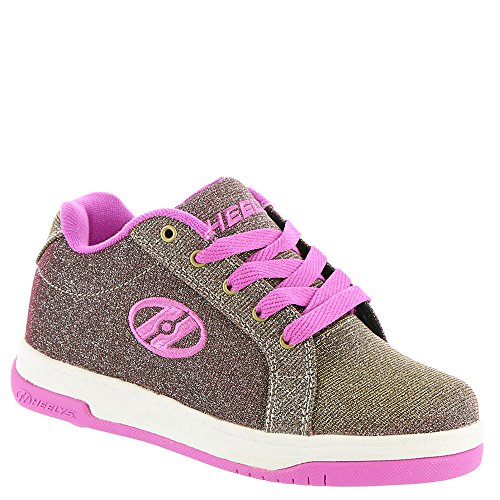 Heelys Split Gold/Berry Ankle-High Fashion Sneaker - 7M 6M