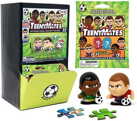TeenyMates International Soccer Series Figurines Mystery Box 32 packs