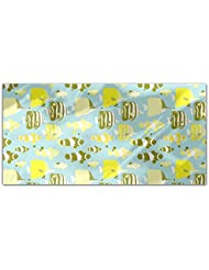 Cute Tropical Fishes Rectangle Tablecloth Large Dining Room Kitchen Woven Polyester Custom Print