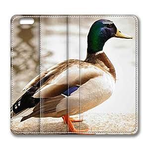 Brain114 6 Plus, iPhone 6 Plus Case, iPhone 6 Plus 5.5 Case, Duck 3 PU Leather Flip Protective Skin Case for Apple iPhone 6 Plus 5.5