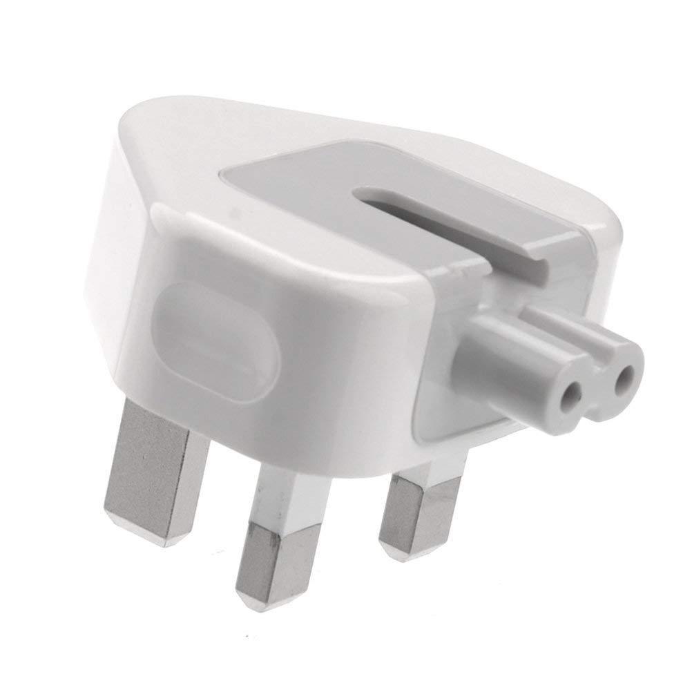 Adaptador de Corriente con Fusible de Enchufe brit/ánico BeckenBower/® Marcado CE para Apple MacBook Mac iBook iPhone iPod Adaptador de alimentaci/ón de 3 Pines AC Viajar