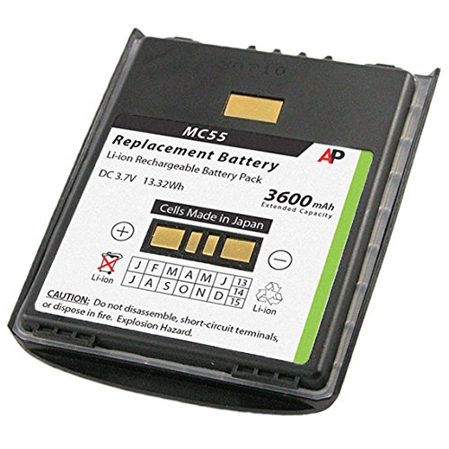 - Artisan Power Replacement Battery for Motorola/Symbol MC55 and MC65 Series. 3600 mAh Extended Capacity