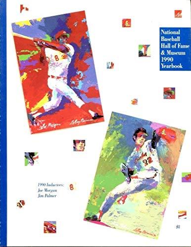 1990 MLB Baseball Hall of Fame Yearbook Joe Morgan Jim Palmer Ex 40700 B2 (Fame Yearbook Of Hall)