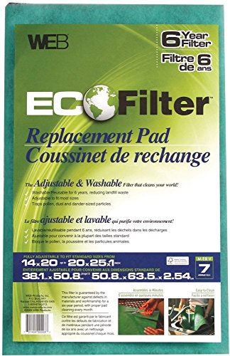 (WEB Eco Filter Replacement Pad, 6 Year)