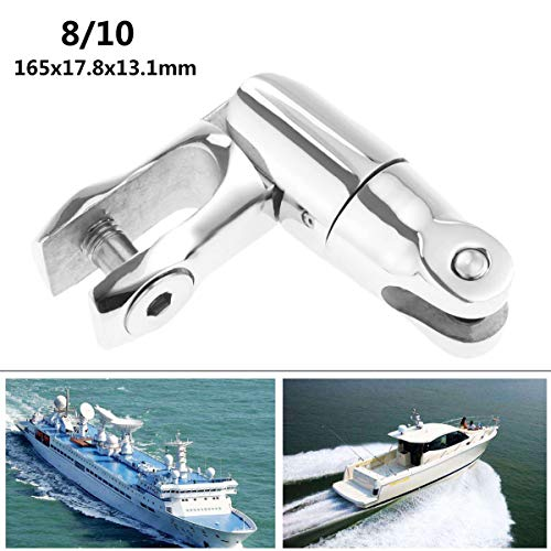 Eaglerich Marine Boat Anchor Swivels Connector 3/8'' to 1/2'' Chain 316 Stainless Steel Working Load 5500 Lbs Resistant Corrosion Durable