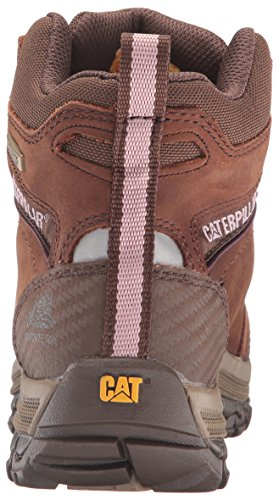 Caterpillar Women's Ally 6'' Waterproof Comp Toe Industrial and Construction Shoe, Brown, 10 W US by Caterpillar (Image #2)