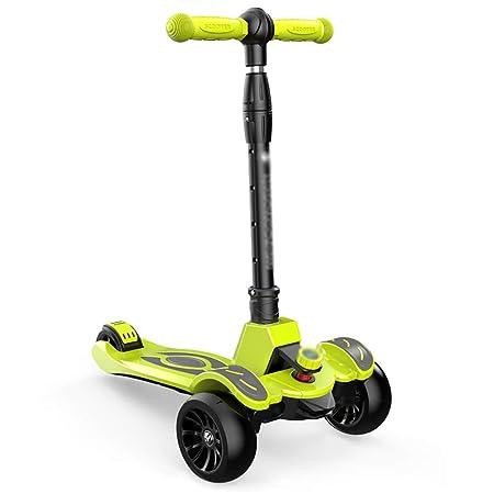 Patinete Pedales Scooter para niños ecológicos con PU ...