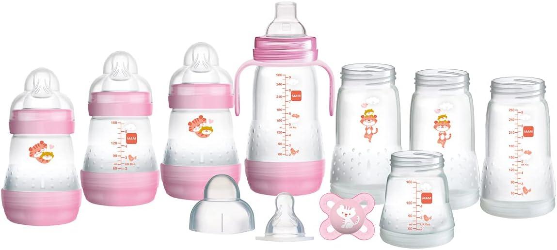 Twin Pack Badabulle 3-Vitesse bouteille bébé tétine anti-coliques Valve
