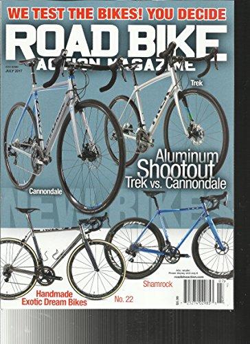 Road Bike Action Magazine  July  2017 Aluminum Shootout Trek Vs Cannondale