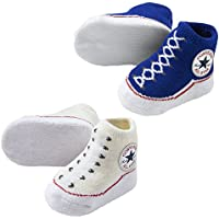 Converse Baby Bright Infant Booties (2 Pack)