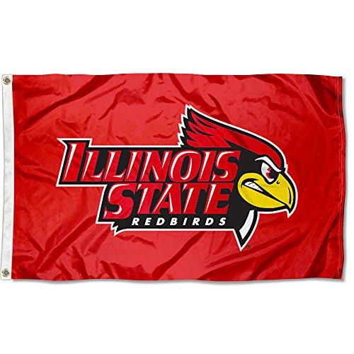 Illinois State Redbirds Isu Flag