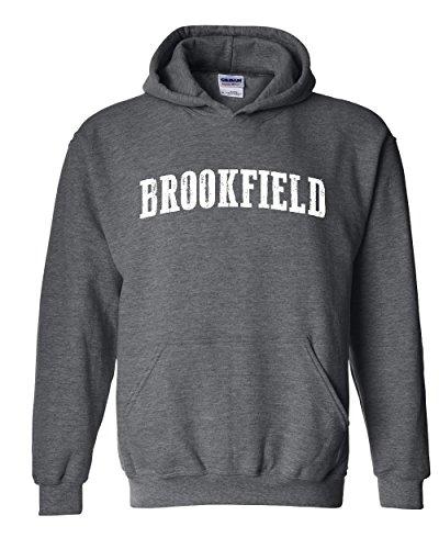 Wisconsin Hoodie Brookfield Home University Of Wisconsin Badgers Panthers WI Unisex Hoodies - Wi Brookfield