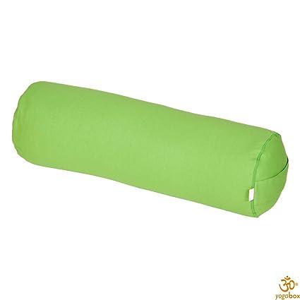 Yoga y Pilates Bolster/Yoga Papel básico, Verde Manzana ...