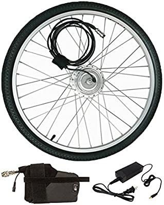 Clean Republic - Kit de bicicleta eléctrica (250 W, 24 V, incluye ...