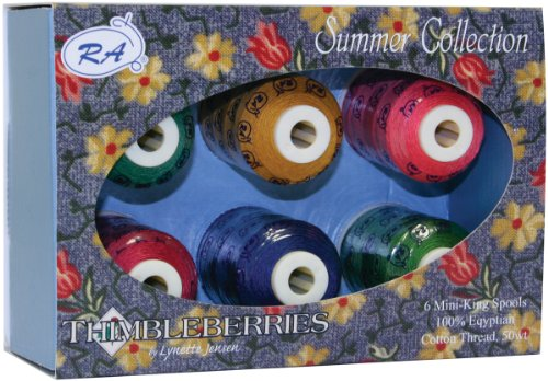(Robison-Anton Thimbleberries Cotton Thread Collections 500 Yards 6/Pkg-Summer)