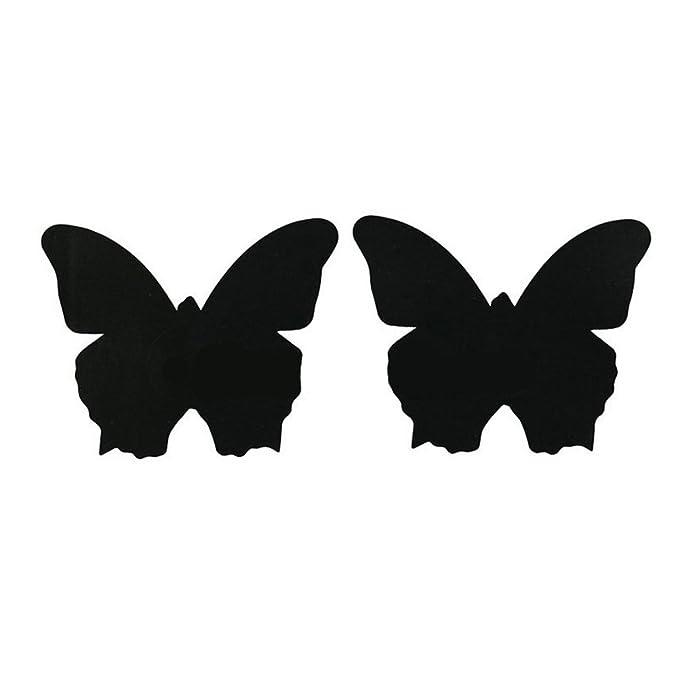 Tinksky Desechables Pasties Nipple Cover Lingerie en el sujetador en forma de mariposa Boob pegatina cubierta