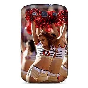 Hot Design Premium LxA9319Yuva Tpu Case Cover Galaxy S3 Protection Case(san Francisco 49ers Cheerleader Uniform)