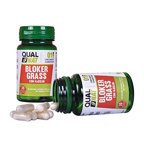 Captagrasas Bloker Grass - Capta grasas para el control de peso de manera natural - Complemento alimenticio para adelgazar si se acompaña de una dieta saludable - 30 cápsulas 3