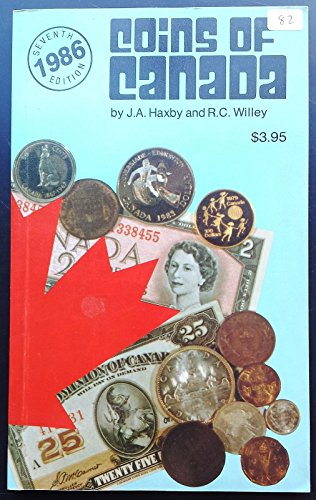 Unbranded Vintage 1986 Coins Of Canada By J A Haxy   R C  Willey 7Th Edition