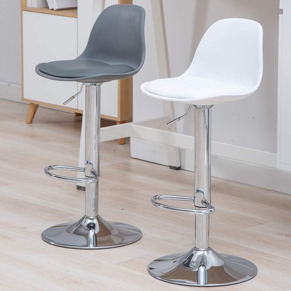 Verstelbare Swivel Barkrukken Counter Rotating Barkruk Modern Hoge Kruk, Cafe Dining Chair, zithoogte,A A