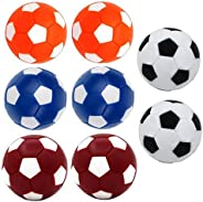 Table Soccer Foosballs Replacement Balls, Qtimal Mini Colorful 36mm Official Tabletop Game Ball - Set of 14