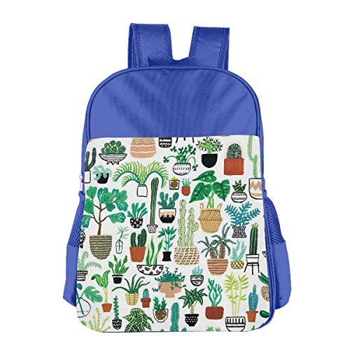 - Cactus Aloe Vera ted Children School Backpack Carry Bag For Youth Boys Girls