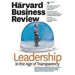 Harvard Business Review, April 2010