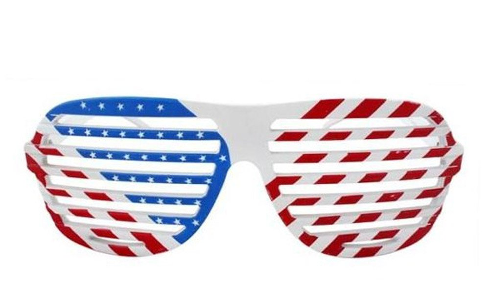 lunnettes de soleil/Shutter Shades USA Design - drapeau americain. Limited edition JGSuW