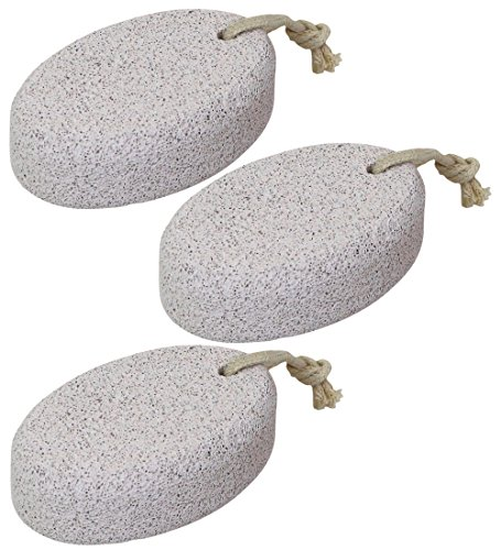 Iconikal Large Pumice Bath Abrasive For Men - 3 Pack