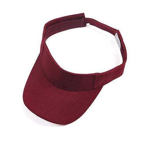 Kaiyitong Sombrero, Gorra de béisbol Ajustable, Rojo/Azul ...