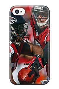 JoelNR Premium Protective Hard Case For Iphone 4/4s- Nice Design - Atlanta Falcons