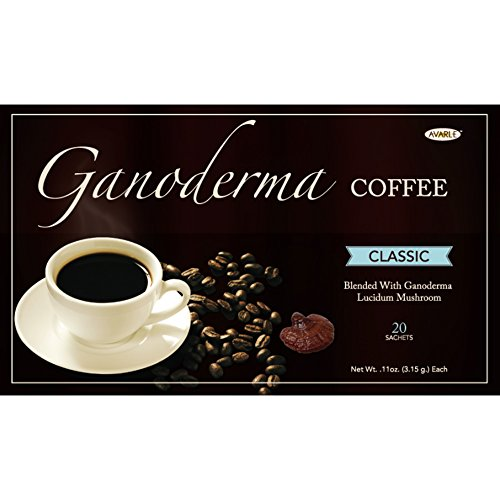 Avarle Classic Healthy Black Coffee with Ganoderma - 20 sachets by Avarle
