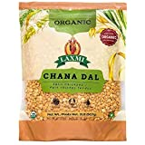 Laxmi Organic Chana Dal, Brown Baby Chickpeas, Organic, Pesticide and Fertilizer Free, Earthy and Nutty Flavor…