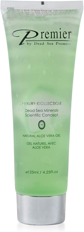 PREMIER Natural Aloe Vera Gel Pure Soothing Healing Hydrating Moisturizing for Skin Hair Body Eczema Acne Dry Skin 4.25 fl oz