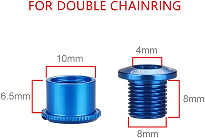 BOLT Mech Hanger Derailleur Nut Hardware Fixing Custom CNC in 7075 alloy