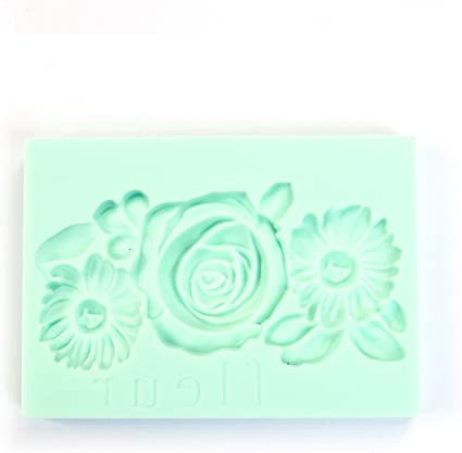 Leafy Blossoms PRIMA MARKETING INC Redesign Mould 5X8 BLSM