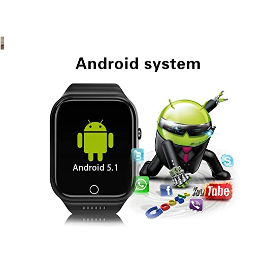 Smartwatches X89 Bluetooth Smart Watch Android 5,1 ROM 16G Soporte ...