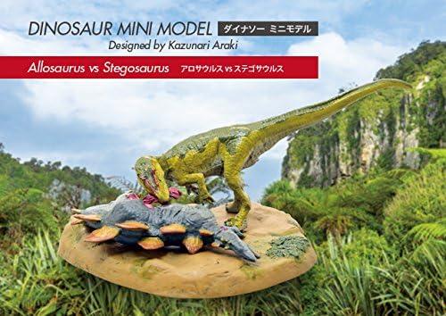 73282 Allosaurus vs Stegosaurus mini model FDW-282