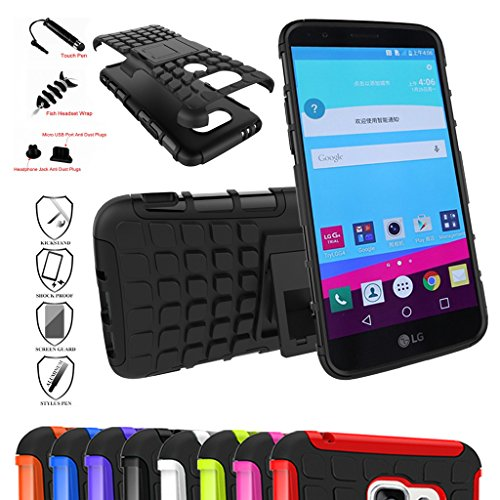 LG G5 Case,Mama Mouth Shockproof Heavy Duty Combo Hybrid Rugged (Dual Layer Grip)