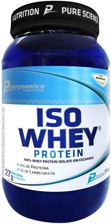 Iso Whey Protein Isolado 909G Baunilha - Performance Nutrition, Performance Nutrition por Performance Nutrition