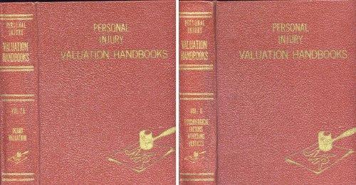 Personal injury valuation handbooks