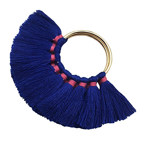 CHENGRUI 5CM Tassels Earrings Accessories For Jewelry Making,Diy,Jewelry Accessories,Pack of 2 Pcs (L8309)