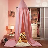 Children Bed Canopy Round Dome, nursery decorations, Cotton Mosquito Net, Kids Princess Play Tents, Room Decoration for Baby