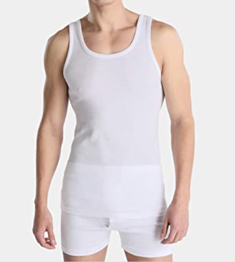 Gabarrona textil Camiseta Tirante Interior para Hombre, 100% Algodón Transpirable Antialergica Modelo Clasico (6, 64-XXL): Amazon.es: Ropa y accesorios