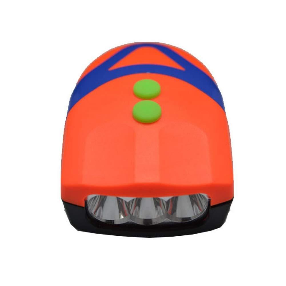 Clyline 2 in 1 V/élo Cloche Lumi/ère V/élo Phare LED V/élo Lumi/ère Avant avec Cloche V/élo De Montagne Phare 4-Sons Alarm/é Haut-Parleur Camping Lampe De Poche V/élo Accessoires Lumi/ères